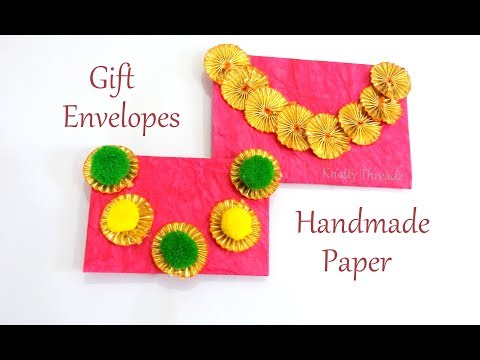 Handmade Paper Gift Envelopes | DIY | Gift Envelope | Children Art & Craft | Best Out Of Waste