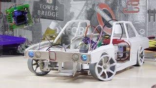 как сделать поворотники для RC модели своими руками // BMW E30