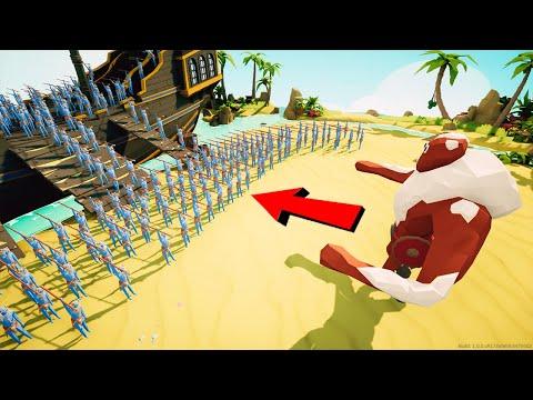 IL GIGANTE STERMINA TUTTI da SOLO!! - Totally Accurate Battle Simulator