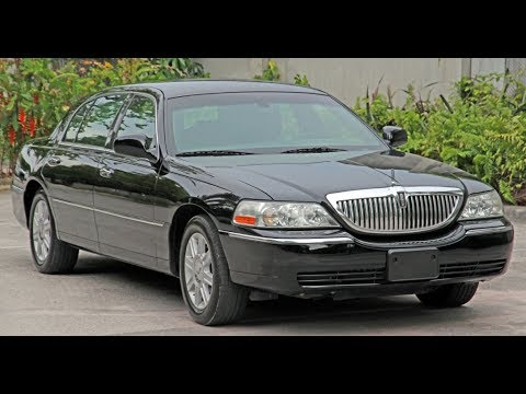 2011 Lincoln Town Car Executive L Walk Around Youtube