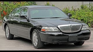 2011 Lincoln Town Car Executive L - Walk Around