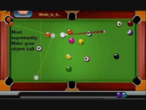 Pool Shooting Tips