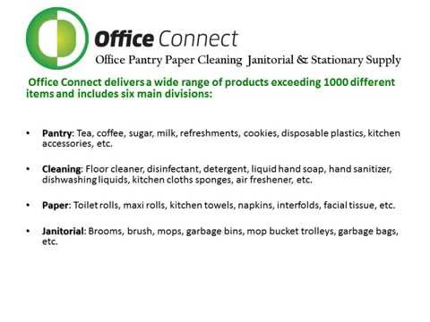 Office Supplies Company in Dubai For Office Pantry, Stationery. Office Connect