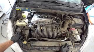 Toyota WISH 2003г.в. 1ZZ-FE. Замена обводного ремня.