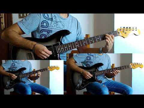 Scorpions - When the smoke is going down (all guitar cover and voice)