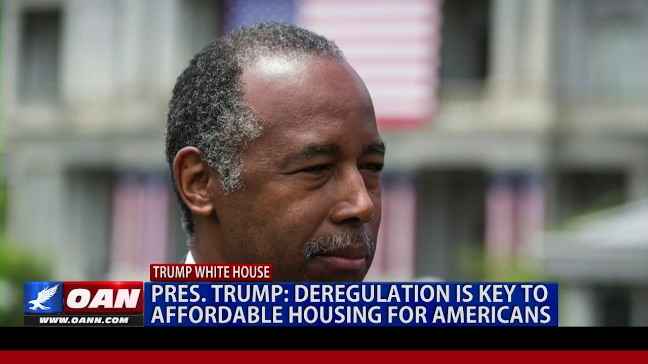 OAN President Trump: Deregulation is key to affordable housing for Americans