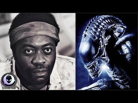Alien Actor Admits Seeing REAL Aliens! 7/28/17
