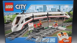 LEGO 레고 60051 High speed Passenger Train 고속 열차 Review 리뷰