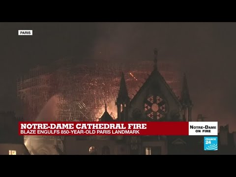 French interior ministry: 'Firefighters might not be able to save Notre Dame'