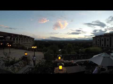 August Sunset Time Lapse at The Omni Grove Park Inn