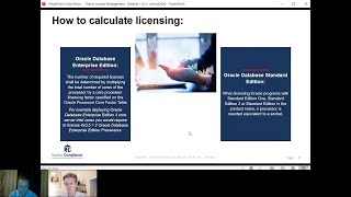 How to calculate Oracle licensing requirements