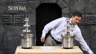 sephra part 1 troubleshooting your chocolate fountain