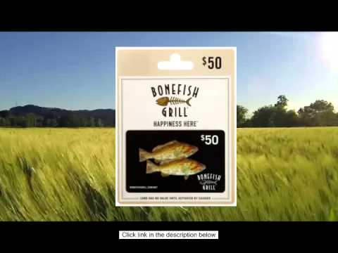 Buy Bonefish Grill Gift Card Online