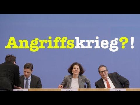 9. März 2018 - Komplette Bundespressekonferenz (RegPK)