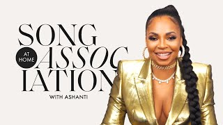 """Ashanti Sings Mary J. Blige, Taylor Swift, and """"Body On Me"""" in a Game of Song Association 