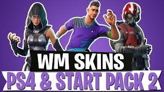 NEW SKINS LEAK | FOOTBALL WORLD CUP - PS4 - STARTER PACK 2 | FORTNITE BATTLE ROYALE
