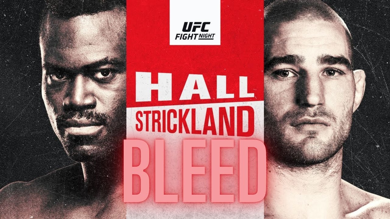 UFC Fight Night Hall vs Strickland Predictions | Full Card Preview | Betting Breakdown UFC Vegas 33