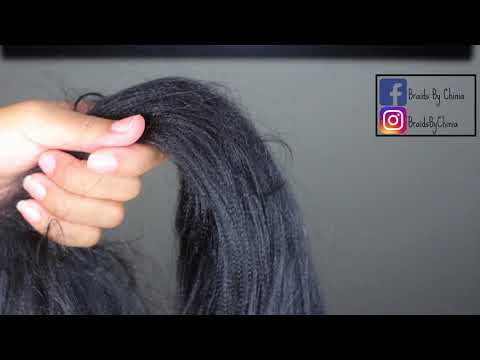 How To Prep Xpressions Braiding Hair for PERFECT Braids!