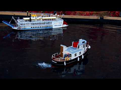 St Albans Engineering Exhibition 2017 - Creole Queen, Glasgow, River Star