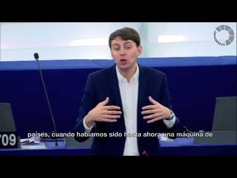 Javi López presenta en el PE el informe sobre el combate contra la desigualdad