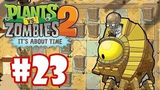 Plants vs Zombies 2 - Finalizamos o Egito Antigo - #23