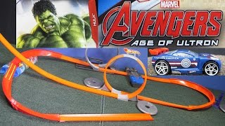 Marvel Avengers Age Of Ultron Hot Wheels 8-Car Set of toy cars