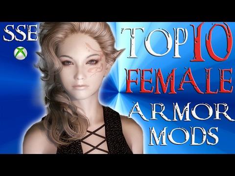 Skyrim Special Edition Top 10 FEMALE Armor Mods