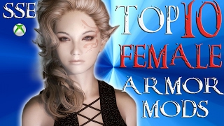 Skyrim Special Edition Top 10 FEMALE Armor Mods