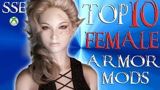 Skyrim Special Edition Top 10 FEMALE Armor Mods. Skyrim Special Edi...