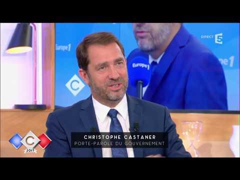 Christophe Castaner : la droite et la gauche dans le piège Macron - C à vous - 24/05/2017