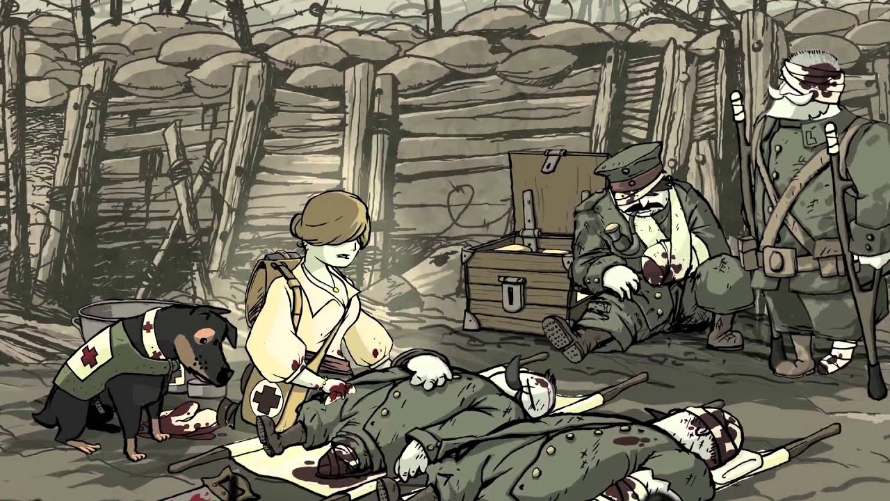 Valiant Hearts: The Great War | u0422u0420u0415u0419u041bu0415u0420