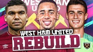 REBUILDING WEST HAM UNITED!!! FIFA 19 Career Mode