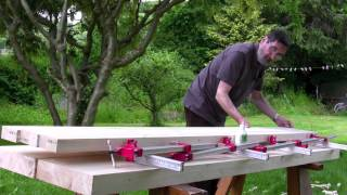 How To Build A Workbench - (part 4) Making The Aprons And The Well Board - With Paul Sellers