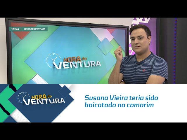 Susana Vieira teria sido boicotada no camarim de Anitta - Bloco 01