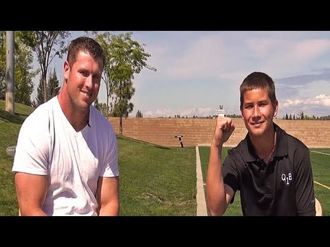 On The Field: Interview with Garrett McIntyre, #50 NY Jets - A Ryan Hicks QB1 Video