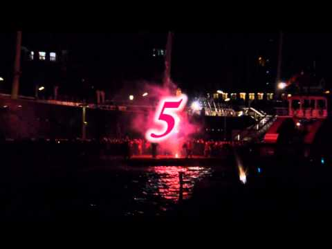 Silvester 2014 in Hamburg (Hafen)