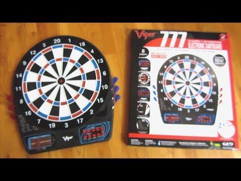 Viper 777 | $50 Talking Dartboard | Soft Tip | Unboxing