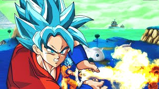 Goku (Kaioken, SSJ1, SSJ2, SSJ3, SSJ DEUS, SSGSS) by Mikel888