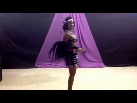 breast out Tiv dancer on Nsasa Night