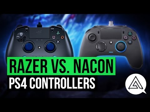 Razer Raiju vs Nacon Revolution Pro PS4 Controller Unboxing & Review