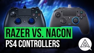 Razer Raiju vs. Nacon Revolution Pro PS4 Controller Unboxing & Review