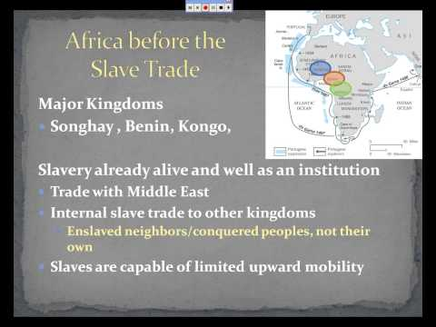 AP World - Ch 20 - Africa & the Atlantic Slave Trade.avi