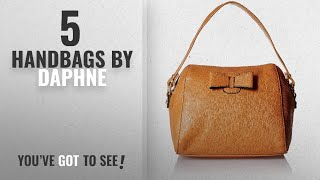 Top 10 Daphne Handbags 2018 DAPHNE Women Handbag Brown