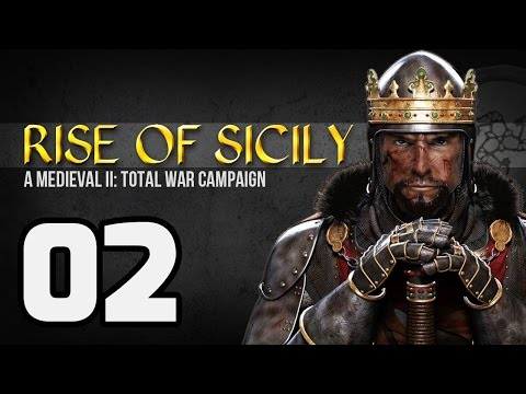 ► Rise of Sicily - 02 | The Battle of Durazzo | Medieval 2: Total War Campaign | Gameplay