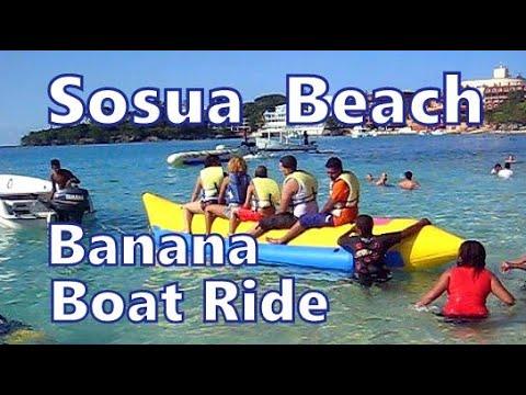 Banana Boat Ride, Playa Sosua, Dominican Republic