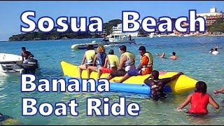 Banana Boat Ride, Playa Sosua, Dominican Republic