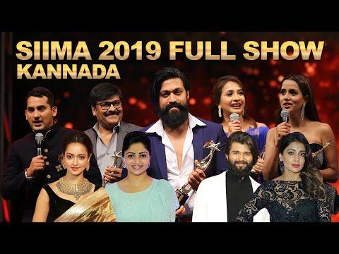 SIIMA 2019 Main Show Full Event | Kannada