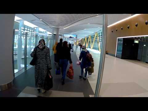 İstanbul Havalimanı Geliş Katı Uçaktan İniş - Bagaj Alış