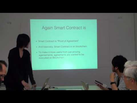 What is smart contract by Tomoaki Sato