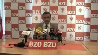 """Pressekonferenz mit dem designiertem BZÖ-Chef Gerald Grosz THEMA: """"Zukunft des BZÖ""""4.10.2013"""